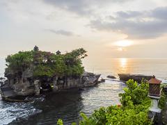 Tanah Lot (blitzrick) Tags: travel sunset sea bali indonesia temple outdoor tanahlot