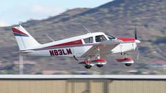 Piper PA-28-180 Cherokee 180 N83LM (ChrisK48) Tags: airplane aircraft 1964 dvt phoenixaz pa28 cherokee180 kdvt piperpa28180 phoenixdeervalleyairport n83lm