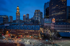Boston (betty wiley) Tags: urban house boston night lights market dusk massachusetts newengland bluehour faneuilhall customs beantown customshouse sonya7rii bettywileyphotography
