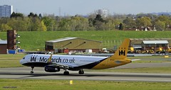 Monarch G-ZBAD  _MG_0044 (M0JRA) Tags: flying airport birmingham aircraft jets monarch planes bhx egbb gzbad
