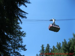 2015 0629 07 CABLE CAR GROUSEMOUNTAIN VANCOUVER (Andrew Reynolds transport view) Tags: canada car vancouver cable gondola 07 ropeway grousemountain 2015 0629 car america north columbia cable britsh