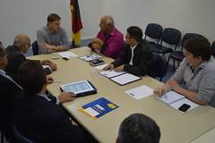 Secretrio com presidente do PSDB e lideranas de Esteio (Lucas Redecker) Tags: sme psdb esteio lucasredecker