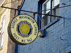 American Legion, Reading, PA (Robby Virus) Tags: sign reading george washington war post pennsylvania american signage carver legion veterans 962