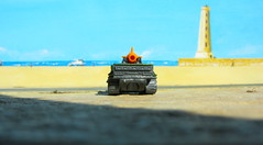 Matchbox Toys MBX HEROIC RESCUE Attack Track 2015 : Diorama The Beach And Lighthouse - 14 Of 25 (Kelvin64) Tags: rescue lighthouse beach toys track attack and diorama heroic matchbox the 2015 mbx