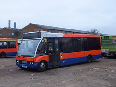 Centrebus 223 Thurmaston (Guy Arab UF) Tags: bus buses warrington leicester yorkshire solo depot stagecoach 223 optare thurmaston 47422 coachways centrebus m850 pjz9451 yc51gzx