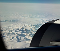 Greenland from above (Tina K) Tags: snow mountains plane landscape grnland