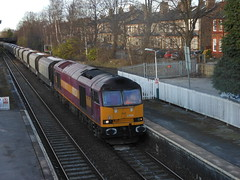 60024 6F05 Hale 19.02.12 (Neil Altyfan - Railway Photography) Tags: limestone hale oakleigh ews tunstead 60024 6f05