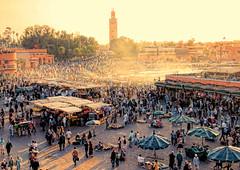 Jamaa el Fna (ramon.1136) Tags: marrakech jamaaelfna