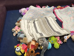Sleep tight! (scotchplainspubliclibrary) Tags: animal stuffed sleepover scotchplains scotchplainspubliclibrary