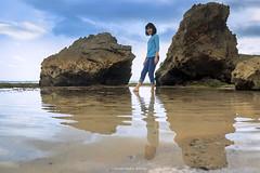 Reflection (hauptmann photo) Tags: sea seascape reflection beach water beautiful beauty indonesia landscape yogyakarta beacheslandscapes