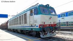 e652-156 (andrewcabassa) Tags: merci sony tigre carri elettrico trenitalia sosta fotocamera ferroviedellostato locomotore e652 xmpr livrea binario9 dsch400