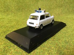 Atlas Editors - Best of British Police Cars - Austin Mini - Royal Ulster Constabulary - Northern Ireland- 1/43 Scale - Miniature Die Cast Metal Scale Model Emergency Services Vehicle (firehouse.ie) Tags: ireland car austin royal police mini atlas vehicle service morris northern polizei troubles patrol policia ulster polis ruc editions polizia peelers constabulary psni 6counties sixcounties nornireland atlaseditions