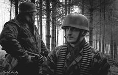 Fallschirmjager ardennen 1944 (Andy Darby) Tags: helmet german medic sani arley paratrooper k98 fallschirmjager fjr5