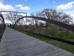 Fort Laramie, WY bridge (army.arch) Tags: bridge army iron fort historic wyoming frontier historicpreservation wy historicdistrict fortlaramie nationalregister nationalregisterofhistoricplaces nrhp threespan kingiron