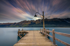 Glenorchy Jetty (shaunyoung365) Tags: new mountain lake mountains zeiss sunrise zealand a7rii