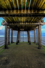 As Far As You Can Go (Mortarman101) Tags: wood sea concrete pier marine yorkshire structure whitby ladder hdr