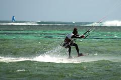 kiting at le morne (Mauritius100) Tags: kite nikon mauritius kitesurf lemorne d5100 mauritius100