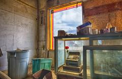 Rose and Register (Kansas Poetry (Patrick)) Tags: abandoned kansas ghosttown worden abandonedstore patrickemerson patricknancy wordenks