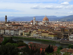 View of Florence across the River Arno (chibeba) Tags: city urban italy florence spring europe april 2016 citybreak