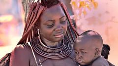 Himba woman (flowerikka) Tags: namibia himba nomaden damaraland kaokeveld