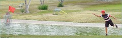 Out She Goes (AJVaughn.com) Tags: fountain alan del golf james j championship memorial fiesta tour camino outdoor lakes hills national vista scottsdale disc vaughn foutain 2016 ajvaughn ajvaughncom alanjv