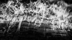 The Firewall (Timothy Gilbert) Tags: blackandwhite wave panasonic devon firewall seadefence dawlish gx7 panasonic20mmf17ii