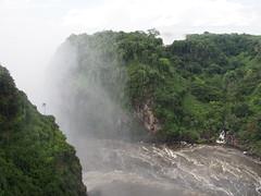 The Boiling Pot, Victoria Falls/Zambezi River (little_duckie) Tags: africa zimbabwe bungy bungee zambezi bungyjump zambeziriver 111metres