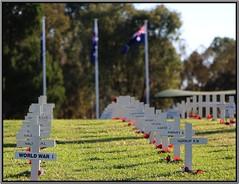 ANZAC Day (florahaggis) Tags: wwi australia victoria cenotaph warmemorial horsham anzacday commemoration april25 pc3400 wimmera australianewzealandarmycorps worlwar1