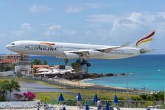 DSC_7388Pwm (T.O. Images) Tags: beach st airport princess airbus juliana ultra maho maarten sxm a340 a340300 plud ecmfa