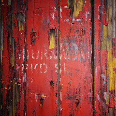 blast from the past (jtr27) Tags: railroad red macro car train square typography decay sony maine newengland railway 55mm wabisabi alpha peelingpaint vivitar manualfocus f28 a7 freight patina csc redness typographic minoltamount ilce alpha7 mirrorless komine jtr27 ilce7 dsc00849c