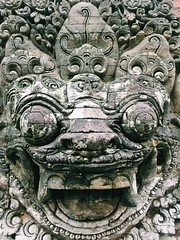 maybe a lion (Talita. ()) Tags: bali indonesia hinduism ubud
