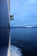 Straight ahead (demeeschter) Tags: morning sea italy ferry boat vado ligure savona