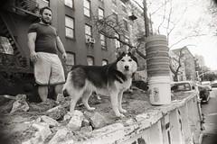 AA033 (heavyasmountains) Tags: nyc newyorkcity blackandwhite slr film 35mm photography nikon candid streetphotography noflash 24mm fm3a filmphotography streetstyle