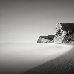 Waves (GlennDriver) Tags: morning sea bw white black monochrome mono coast long exposure outdoor dorset