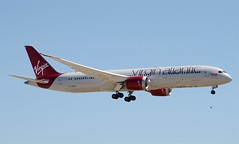 """Virgin Atlantic 787-900 Dreamliner (G-VDIA) """"Lucy in the Sky"""" LAX Approach 2 (hsckcwong) Tags: lax 787 lucyinthesky dreamliner virginatlanticairways 7879 787900 gvdia"""