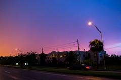 Stormy sunset, Orlando, Florida (Vincent Lammin) Tags: sunset sky usa storm weather us orlando florida dusk clearing eastcoast tatsunis