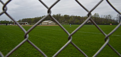 Baseball (ramseybuckeye) Tags: ohio field fence baseball pentax sigma chain single link 1750 challenge jv elida
