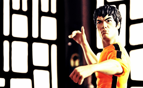 image of action figure of Bruce Lee