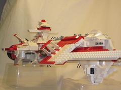 X-Mas Battleship (patlacroix72) Tags: ship lego space scifi spaceship spacecraft