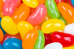 coated colored jelly bean candies (coolnina) Tags: pink blue food orange white color cooking yellow closeup dessert cafe pattern candy sweet eating pastel background object chewy group bean sugar glaze rows snack jelly vanilla shape coated multi confectionery organized chaotic dragee