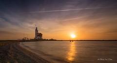 Marken - Lighthouse in early morning (Toon E) Tags: lighthouse netherlands sunrise sony nederland vuurtoren marken noordholland 2016 northholland tonika a6000 tonikaatx116pro1116f28