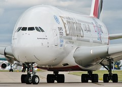 A6-EEE (AnDrEwMHoLdEn) Tags: manchester airport emirates a380 manchesterairport egcc 23l