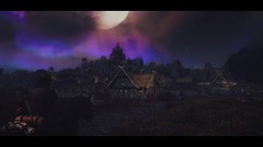 Returning to Whiterun after a long journey. (keom nomikon) Tags: grim elder somber scrolls skyrim whiterun