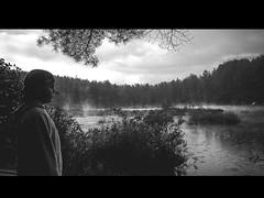 Watching the Rain (Jackx001) Tags: world blackandwhite lake ontario canada nature rain photography explore gaia discover pog