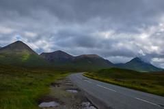 Cloudy road (Il_naso) Tags: road trip wild mountains skye nature clouds montagne landscape scotland nikon strada nuvole cloudy natura viaggi viaggio isola scozia selvaggia d3300