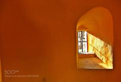 eternal Light (Pity411) Tags: light sun window yellow architecture shine fenster medieval architectural gelb architektur passage sonne aura stadtmauer stadttor mittelalter durchgang 500px ifttt