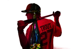 Mike Trout photographed for BodyArmor sports drink by Monte Isom (cronk.cameron27) Tags: player sportsdrink anaheimangels bodyarmor rookieoftheyear miketrout monteisombaseball