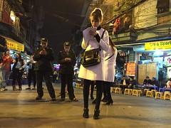 Cigarette girls and policemen (Hanoi, Vietnam 2016) (paularps) Tags: travel sea food seascape nature island asia outdoor culture vietnam hoian hanoi saigon hochiminhcity reizen azië 2016 2015 arps paularps nikond7100
