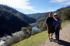 On the Trail (tmrae) Tags: hiking hike northfork auburnstaterecreationarea februaryfun auburnca auburncalifornia americanrivercanyon