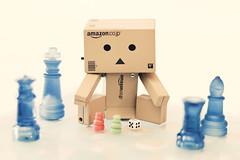 It's all about the game . 7/52 (Tiziano Caviglia) Tags: toys games cardboard kawaii giochi yotsuba danbo danboard danbolove